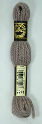DMC Tapestry Wool 8m SKEIN Colour 7275 VERY DARK SHELL GREY