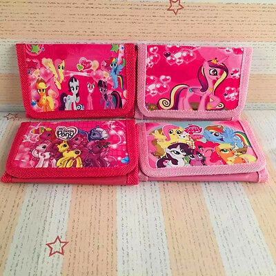 New My Little Pony Kids Girls Coins Trifold Wallet Purse Party Birthday Gift
