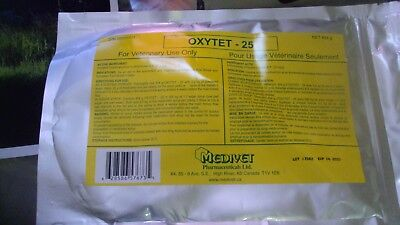 OXYTETRACYCLINE HCL SOLUBLE POWDER A BROAD SPECTRUM ANTIBIOTIC 454 Gram large