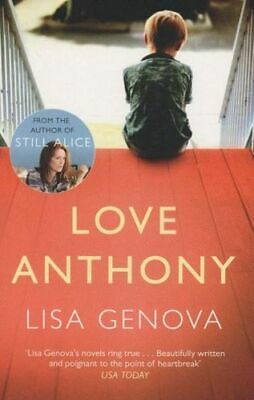 NEW Love Anthony By Lisa Genova Paperback Free Shipping