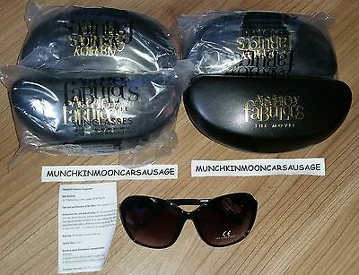 New Sealed Ab Fab Absolutely Fabulous The Movie Sunglasses with Case 100% UV 400