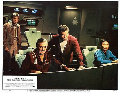 Star Trek 3: The Search for Spock  1984  8 original Lobby Card Set   NEAR MINT