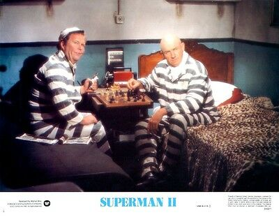 Superman 2   8 Lobby Card Set  1980  All cards are NEAR MINT   11 x 14