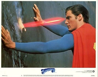 Superman 3    8 Lobby Card Set   1983   All cards are NEAR MINT  11 x 14