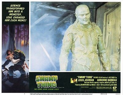 Swamp Thing   8 Lobby Card Set  1982  All cards are NEAR MINT  11 x 14