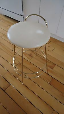 Vintage  Mid Century Hairpin Vanity Stool Chair 21""