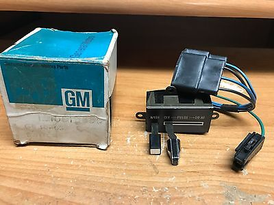 NOS GM Delco 1980-1981 Pontiac Trans Am Pulse Delay Windshield Wiper Switch