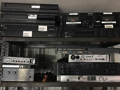 audio amplifiers / crossovers / security recorders