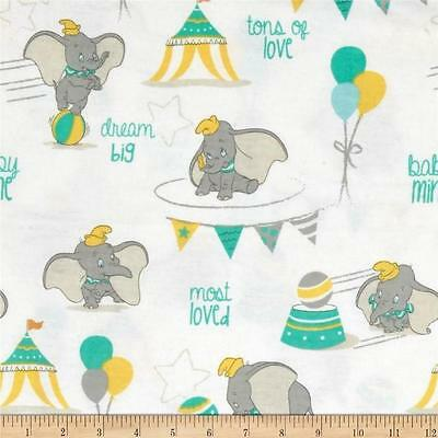 """Pack N Play Cover Sm Travel Lite (20X30"""")/flannel-Disney's Dumbo - Ton Of Love"""