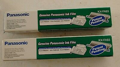 2 Panasonic KX-FA93 ink film