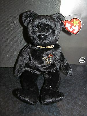 "Ty Retired 1999 Beanie Baby ""The End"" with tag Errors - New with mint tags"