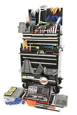 Hilka 489 Piece Tool Kit In Professional Tool Chest And Cabinet