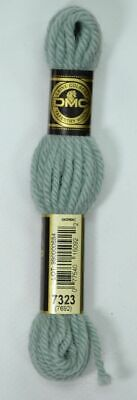 DMC TAPESTRY WOOL, 8m SKEIN, Colour 7323 LIGHT BLUE GREEN
