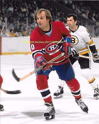GUY LAFLEUR In ACTION vs Bruins 1978 STANLEY CUP FINALS 8x10 MONTREAL CANADIENS