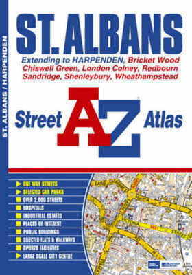 St Albans Street Atlas by Geographers' A-z Map Company (Paperback)