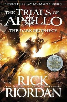 NEW The Dark Prophecy  By Rick Riordan Paperback Free Shipping