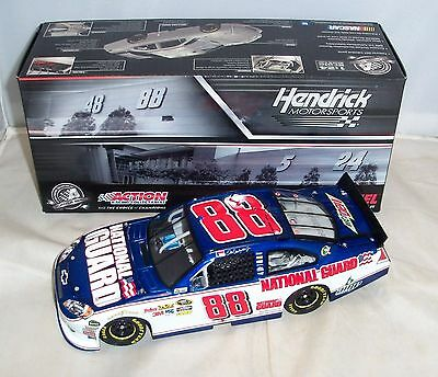 2011 Action Dale Earnhardt Jr National Guard Speed Shop Monte Carlo Ss 1:24