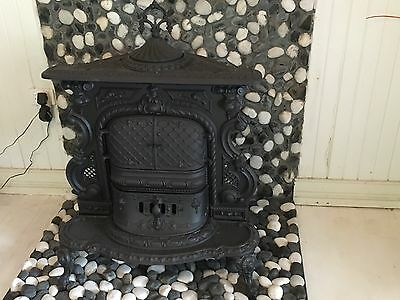 antique fireplace/stove