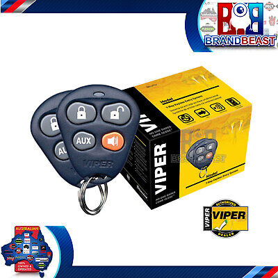 Directed Viper 412v Keyless Entry System 4 Button Remote Clone-safeâ® Code-hop