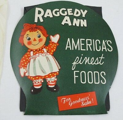 Vintage RAGGEDY ANN America's Finest Foods Sewing Needle Kit New Advertising