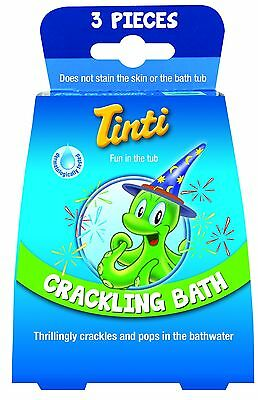 Kids bath products (Crackling bath pops by Tinti)