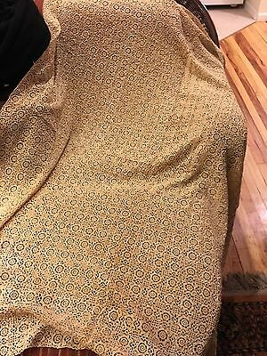 "Antique Crochet  or Tablecloth Hand Made 68""x70"""
