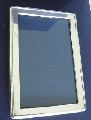 Antique Solid Silver Easelback Photograph Frame by A  Zimmerman 1922 Birmingham