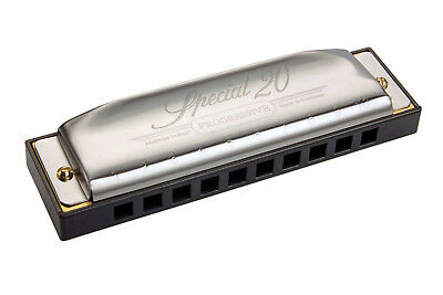 """Harmonica diatonic Hohner """"Special 20"""" new Do / C reliable, faeasy to play"""