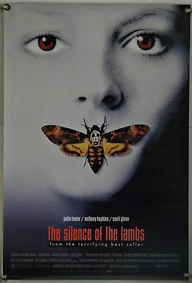 The Silence Of The Lambs Ds Rolled Orig 1Sh Movie Poster Jodie Foster (1991)