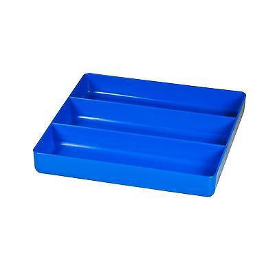 Ernst Manufacturing 5022 Blue 10.5 Inch by Organizer Tray 3 Compartments