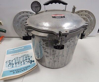 All American Pressure Cooker And Canner 921 Aluminum  1664H