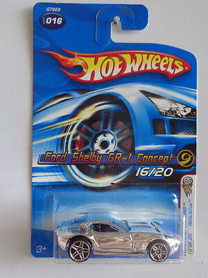 2005 Hot Wheels 16/187 2005 First Editions - Realistix Ford Shelby GR-1 Concept