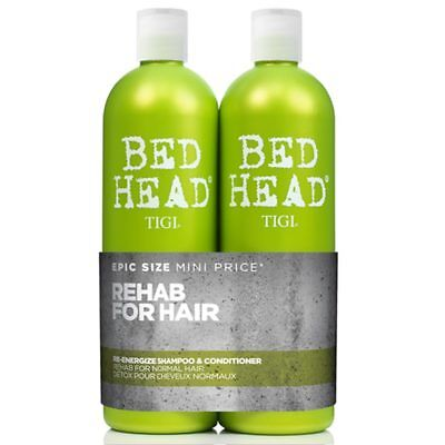 TIGI Re-Energize Shampooing 750ml + conditionneur Format 750ml grand