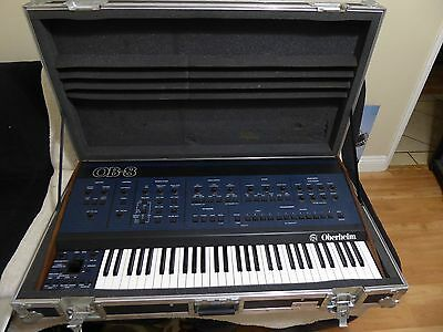 Oberheim Ob-8 With Factory Midi Analog Synthesizer Excellent Working Condition !