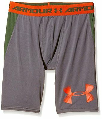 grafite (TG. Small) Under Armour pantaloni Fitness e pantaloncini ragazzo long,