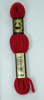 DMC TAPESTRY WOOL, 8m SKEIN, Colour 7544 RED