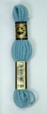 DMC TAPESTRY WOOL, 8m SKEIN, Colour 7597 TURQUOISE