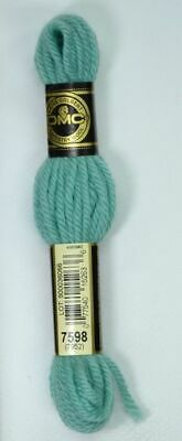 DMC Tapestry Wool, 8m SKEIN, Colour 7598 LIGHT TURQUOISE
