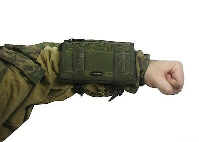 Russian Pouch Case map arm tablet molle pixel emr PAINTBALL airsoft green