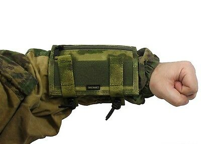 Russian Pouch Case map arm tablet molle atacs fg PAINTBALL airsoft green