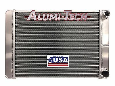 28 X 19 Double Pass Aluminum Radiator 2 Row 1.25 Tubes De-Airation IMCA USRA USA