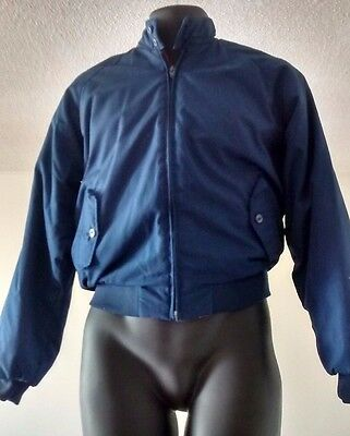 Van Heusen Baracuta Jacket Blue Harrington Plaid Lined  VINTAGE SEE DESCRIPTION