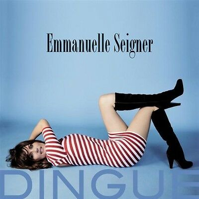 Emmanuelle Seigner Dingue NEAR MINT Columbia Vinyl LP