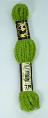 DMC Tapestry Embroidery Wool 8 m skein Ultra Very Dk Canary Yellow 7435 NEW