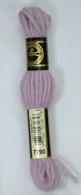 8m SKEIN DMC Tapestry Wool Colour 7212 VERY DARK MAUVE