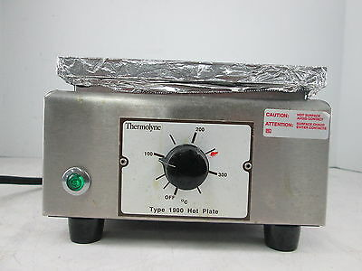 Barnstead Thermolyne Type 1900 Hot Plate HPA1915B 120V 6.2AMPs 750W 50/60Hz 1-PH