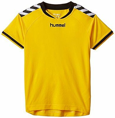 Giallo (Sports Yellow) (TG. 116-128 cm) Hummel, Maglietta Bambino Stay Authentic