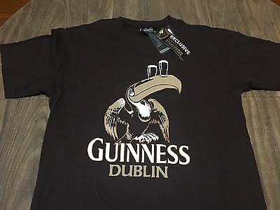 Guinness Dublin Large T Shirt Official Merchandise Storehouse Exclusive NEW+Tags