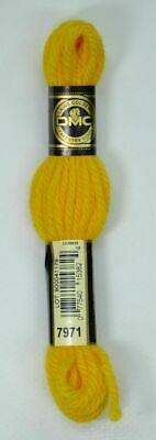 DMC Tapestry Wool, 8m SKEIN, Colour 7971 DEEP CANARY