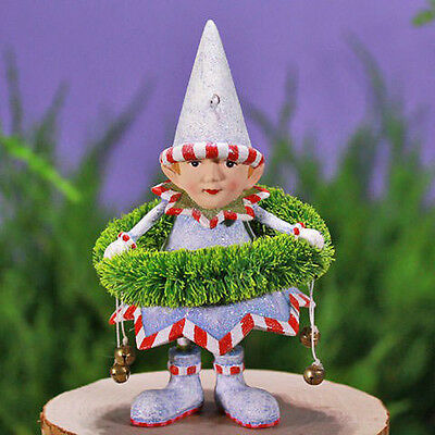 Patience Brewster Dash Away Dasher's Wreath Elf Christmas Ornament 08-30666